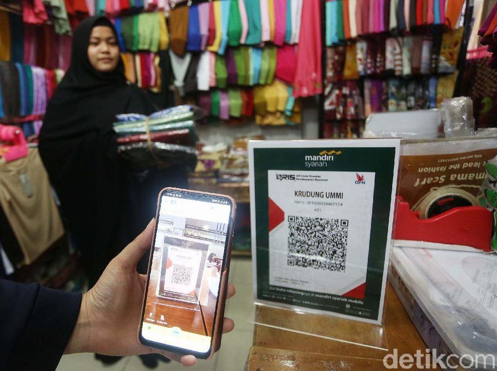 Bank Mandiri Syariah Sosialisasi Pembayaran QRIS