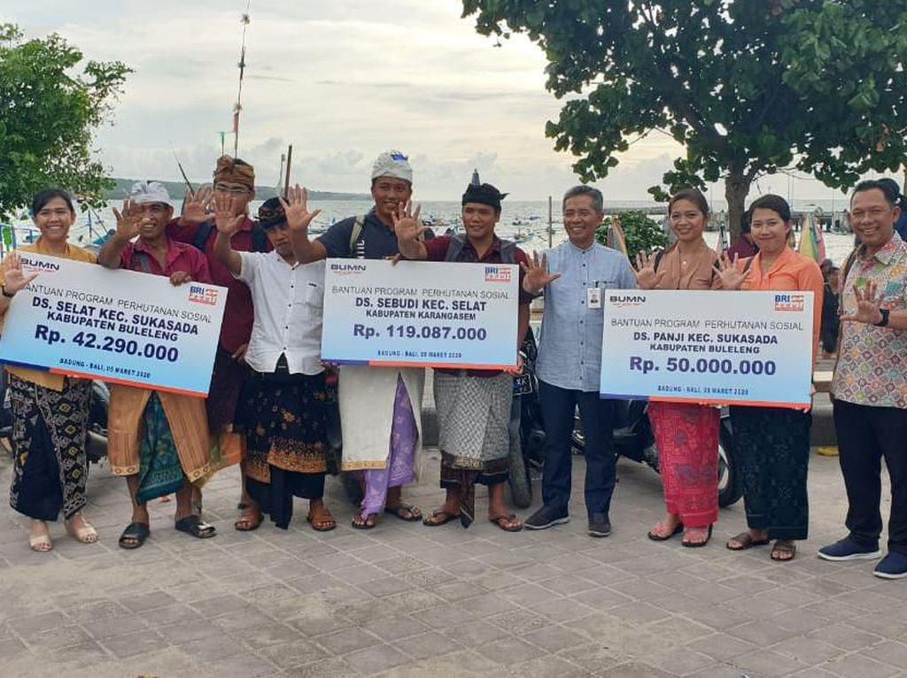 Genjot Ekonomi Kerakyatan, BRI Galakkan Perhutanan Sosial di Bali