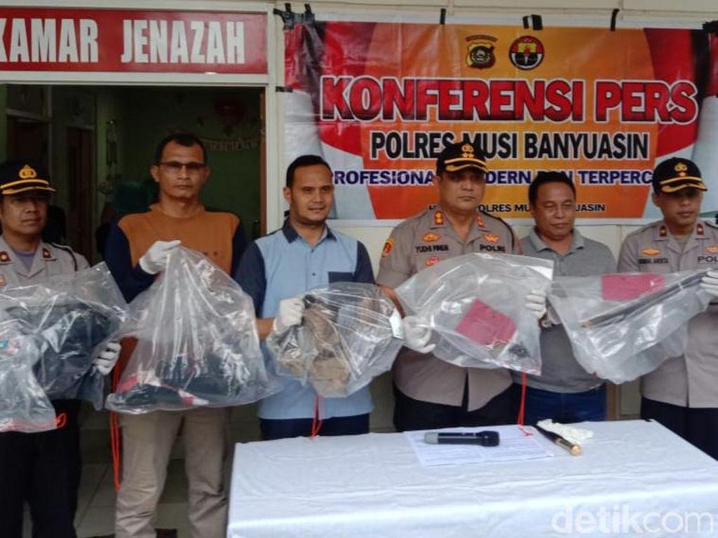 Dor! Polisi Tembak Mati Pembunuh Kadus di Musi Banyuasin Sumsel
