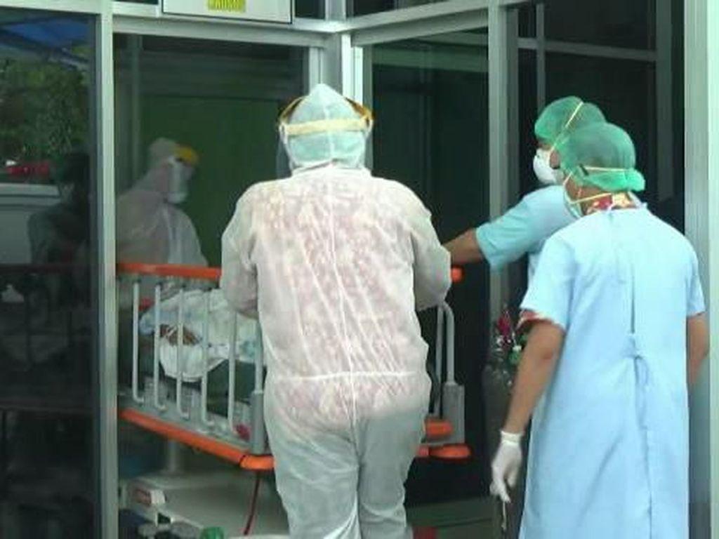 RSUD dr Mohammad Saleh Probolinggo Simulasi Penanganan Pasien Virus Corona