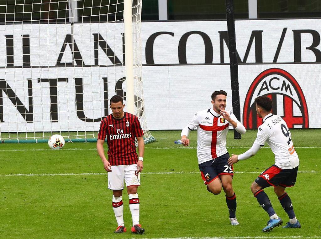 Milan Vs Genoa: Rossoneri Tumbang di San Siro