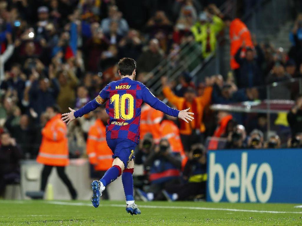 Tersubur di 5 Liga Top Eropa, Messi Lewati Jumlah Gol Ronaldo