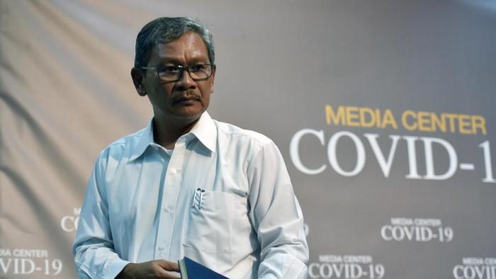 Juru bicara pemerintah untuk penanganan wabah virus Corona, Achmad Yurianto.