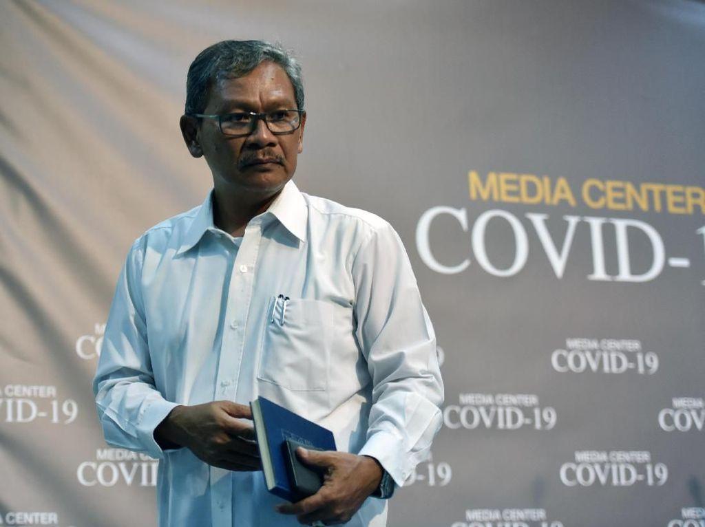 Achmad Yurianto Dicopot dari Dirjen Kemenkes