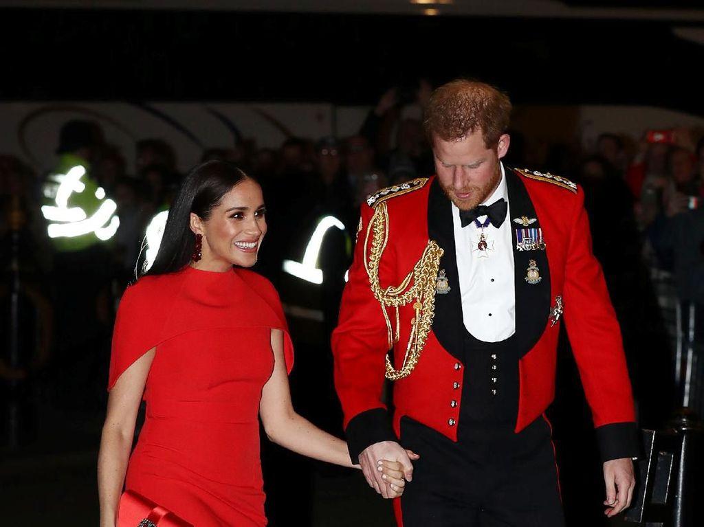 Meghan dan Pangeran Harry Akhirnya Reunian dengan Ratu Elizabeth II