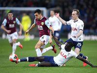 Tottenham Tertinggal 0-1 dari Burnley di Babak Pertama