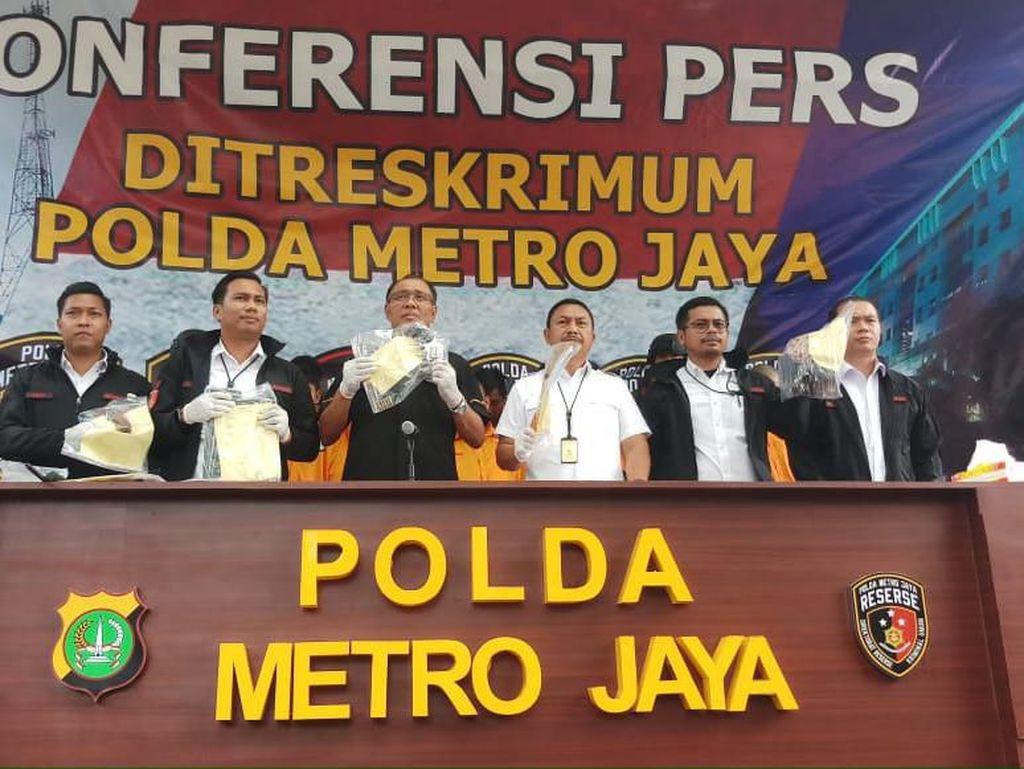 Kelompok Curanmor Bersenpi Diringkus Polisi, 1 Tersangka Ditembak Mati