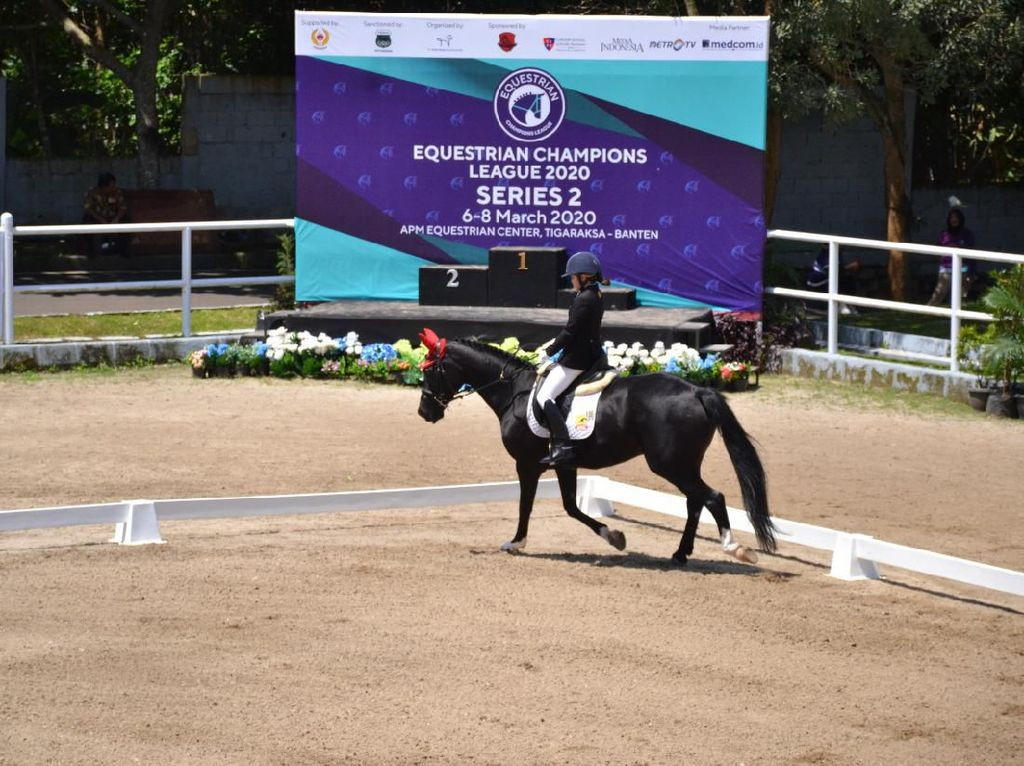 Equestrian Champions League 2020 Tumbuhkan Minat Olahraga Berkuda