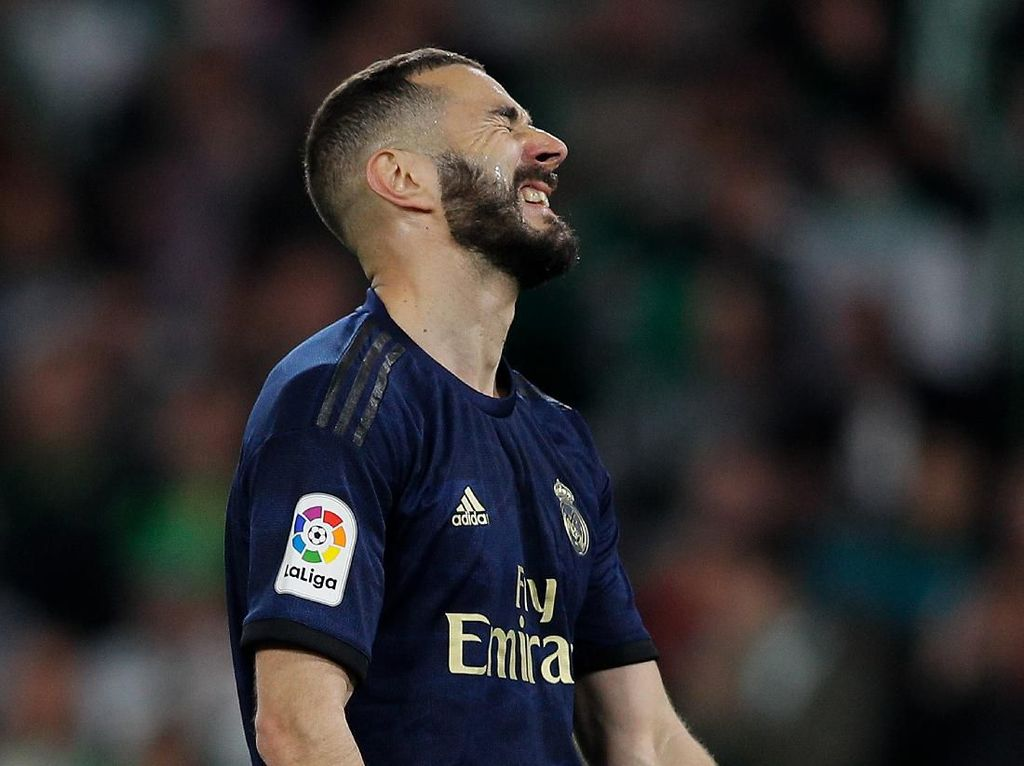 Blunder Pertama Benzema Berujung Fatal bagi Madrid
