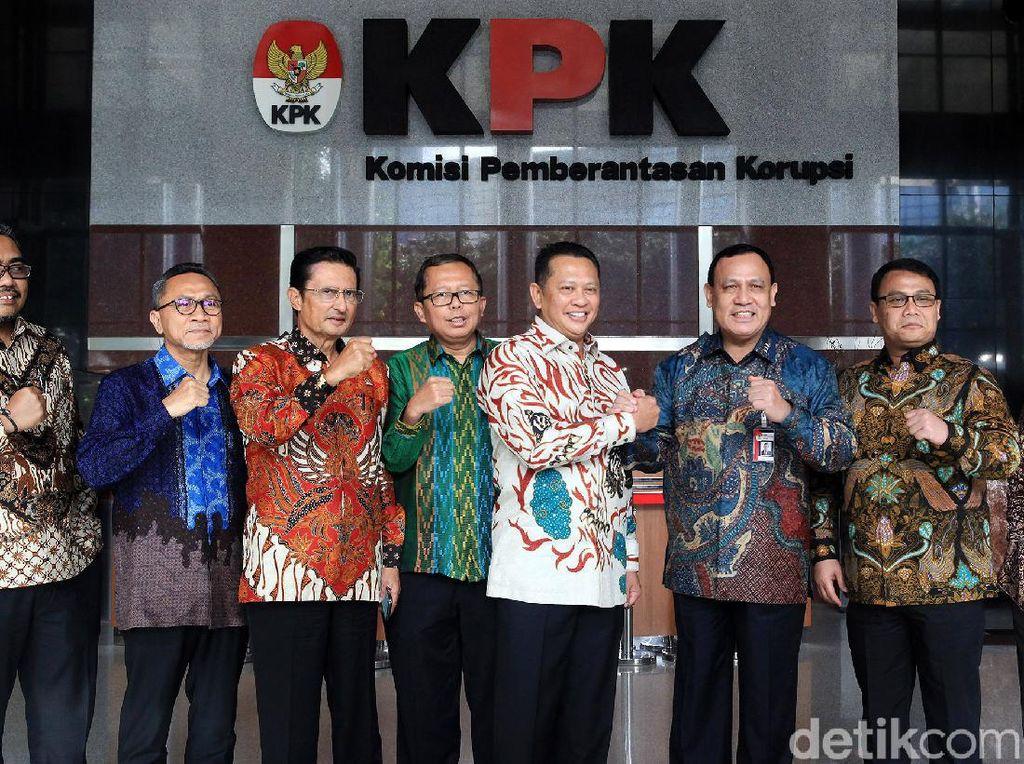 MPR dan KPK Kompak Berantas Korupsi