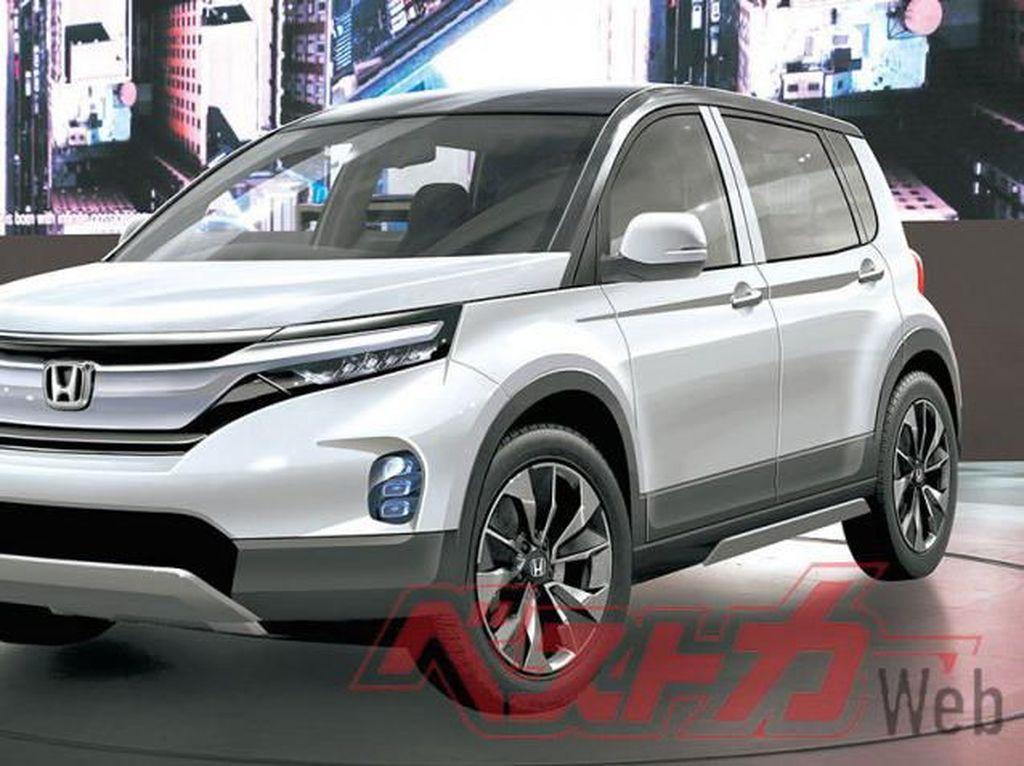 Sssttt...Honda Siapkan SUV Baru Penantang Rocky-Raize