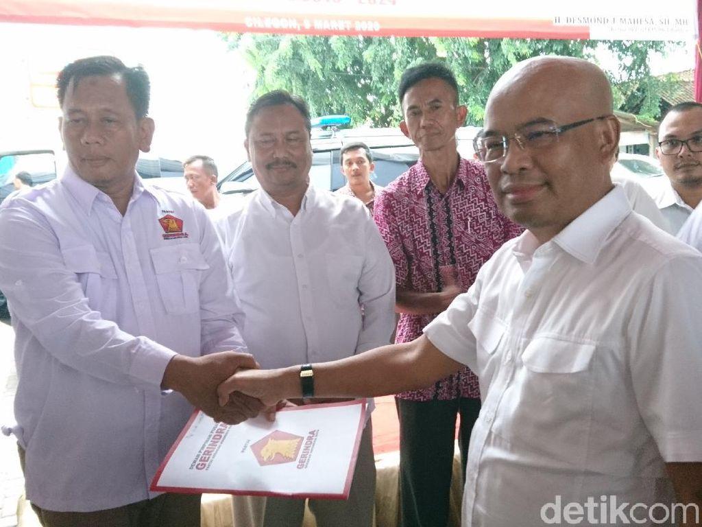 Desmond Lantik Eks Kasat Intel Polres Cilegon Jadi Ketua DPC Gerindra