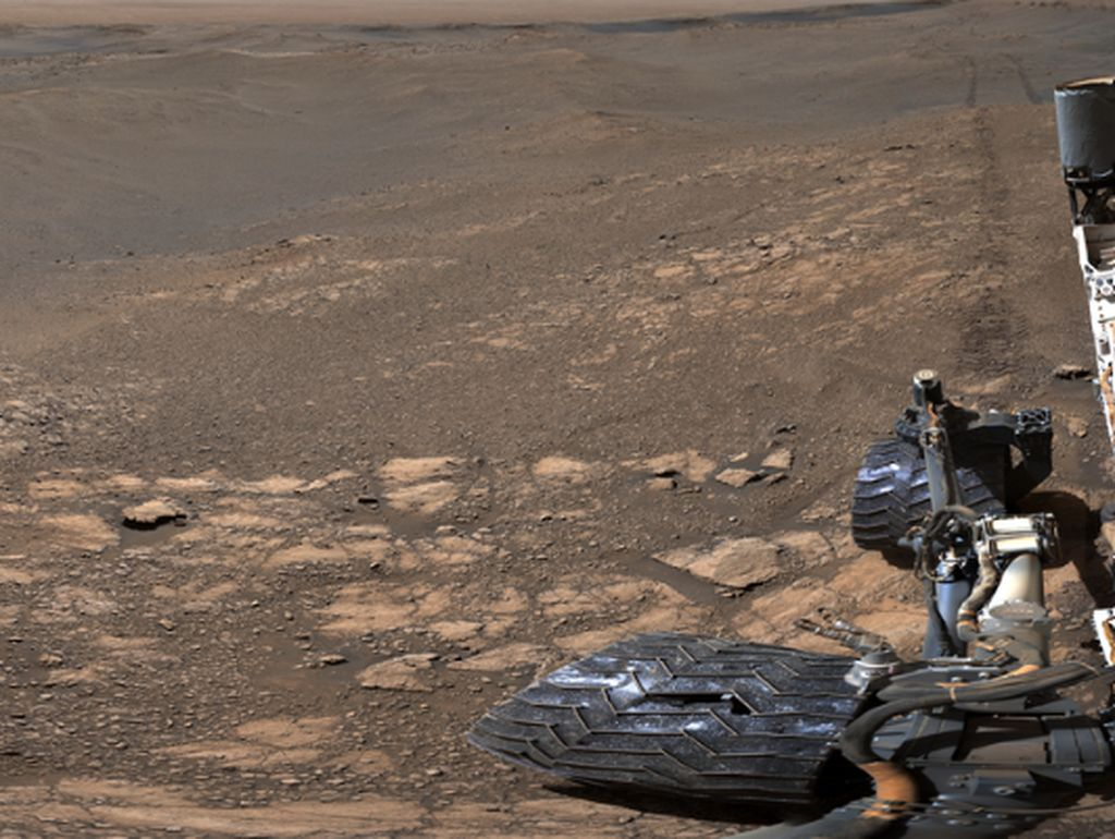 Wah, NASA Rilis Foto Mars dengan Resolusi Paling Tinggi