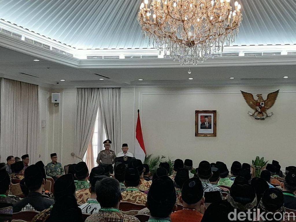 Wapres Maruf Imbau Dai Sampaikan Pesan Damai: Pendakwah Bukan Hakim