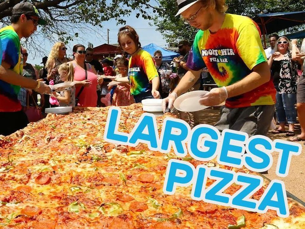 5 Rekor Dunia Pizza, Ada yang Terpanjang sampai Termahal!