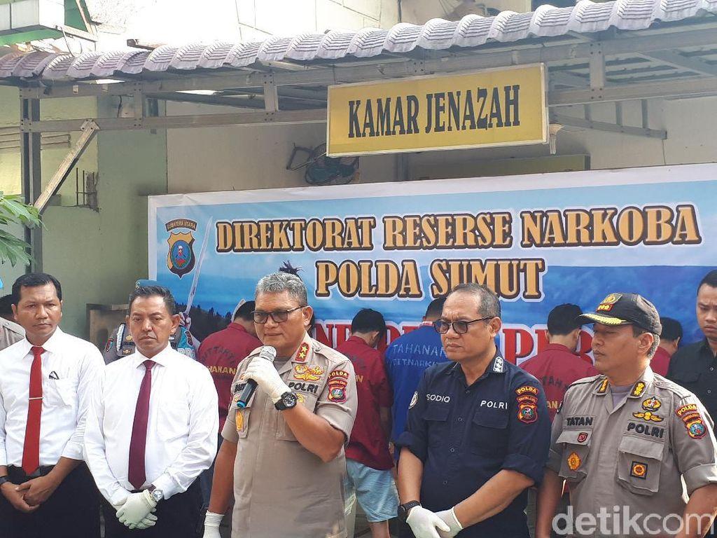 22 Kg Sabu Jaringan Malaysia Dibongkar Polda Sumut, 1 Pelaku Ditembak Mati