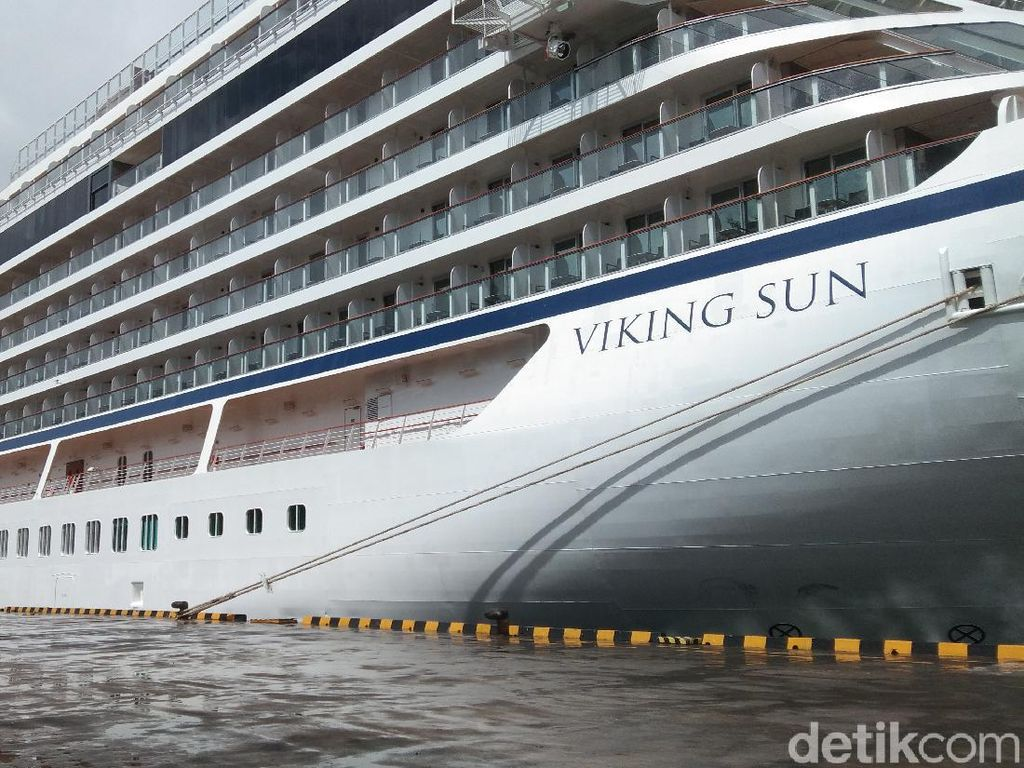 Usai Sandar di Bali Viking Sun Lanjut ke Sri Lanka, Tambah 107 Penumpang