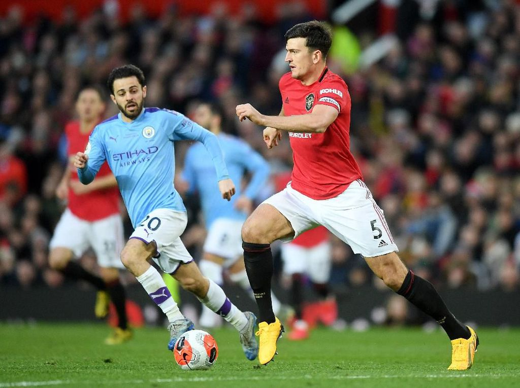 Man City Keok vs Man Utd, Liverpool Makin Dekat ke Gelar Juara Liga