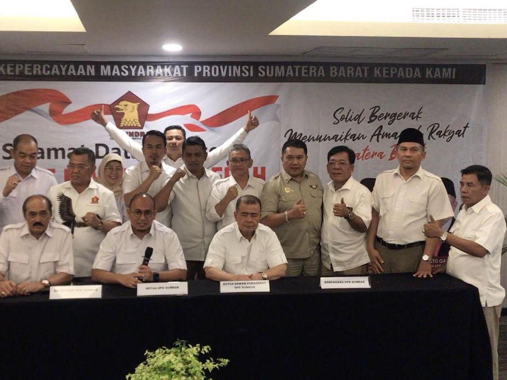 Gerindra Kongres Tahun Ini, DPD Sumbar Dukung Prabowo Jadi Ketum Lagi