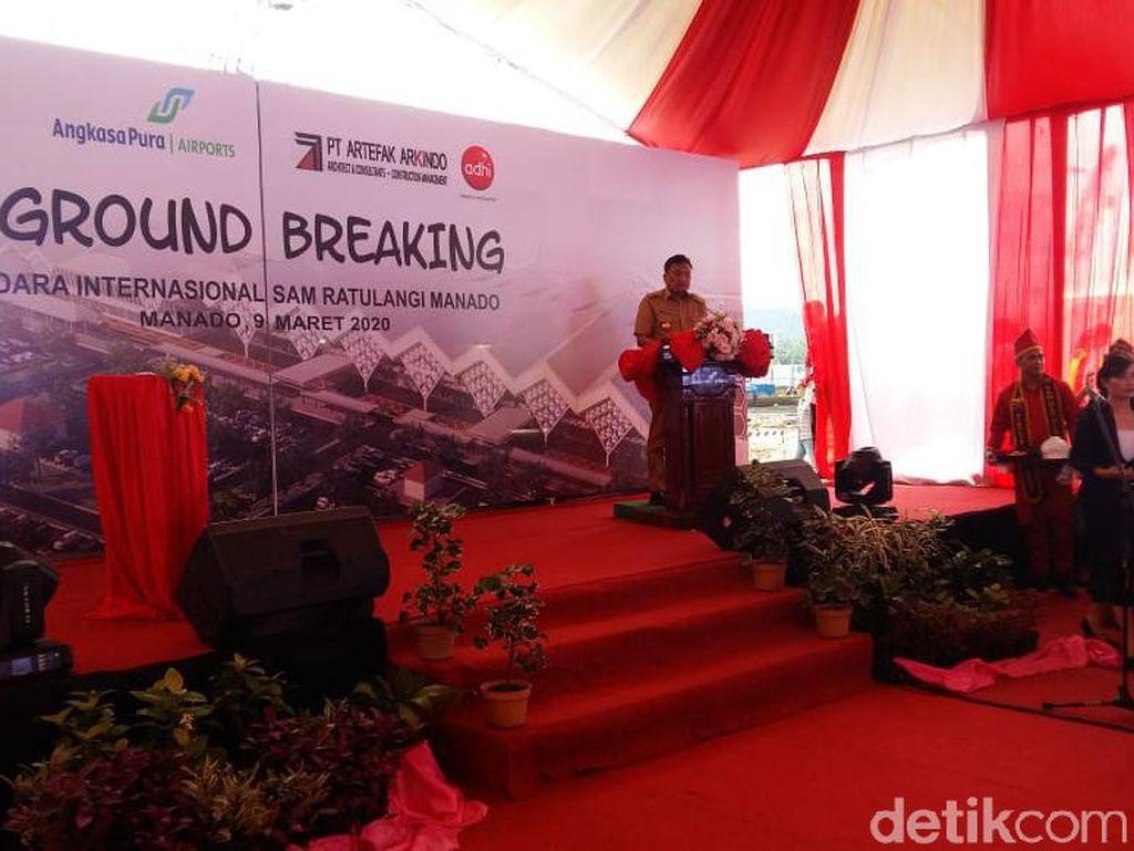 Bandara Sam Ratulangi Diperluas, Kapasitas Penumpang Jadi 6 Juta