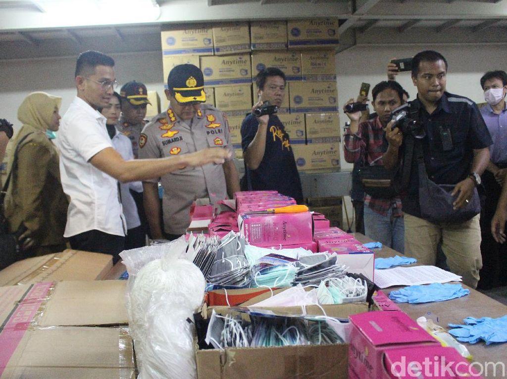 Gudang Masker Impor China Digerebek, Pengimpor Untung Rp 700 Juta