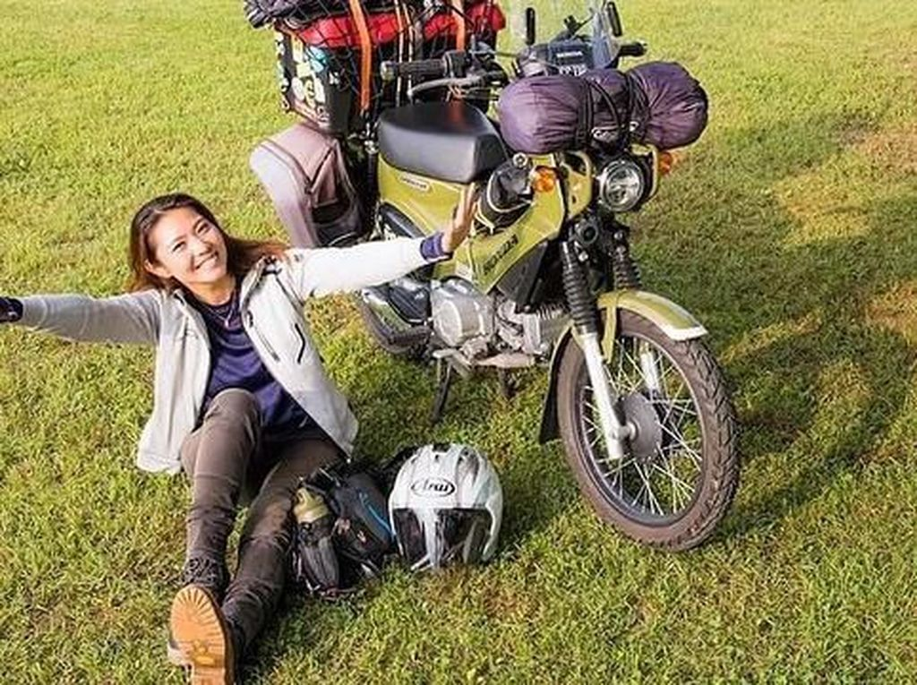 Kenalan dengan Lady Bikers Jepang yang Doyan Touring