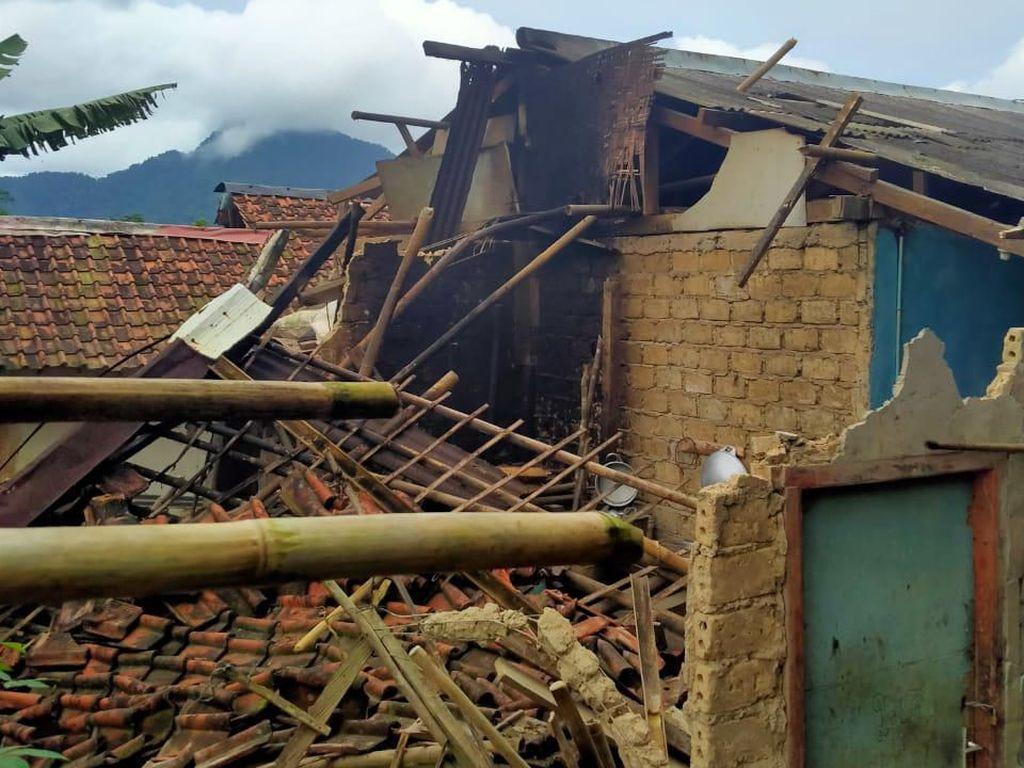 644 Rumah Rusak di Kabupaten Bogor Akibat Gempa Sukabumi