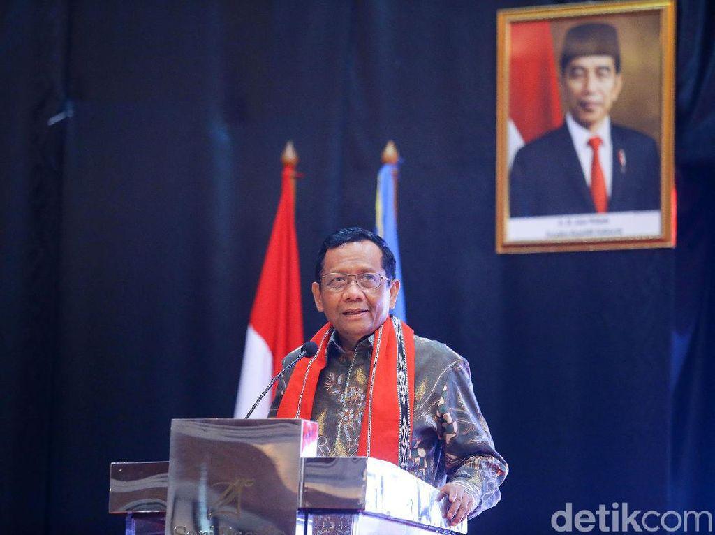 Mahfud Bahas Penegakan Hukum-Kunjungan Pulau Terluar ke Ketua KPK dan KSAD