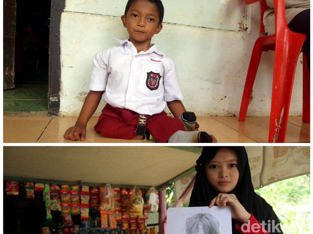 Kisah 2 Anak Inspiratif di Sukabumi yang Dapat Atensi Jokowi