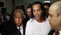 Ronaldinho Cerita Pahitnya Hidup Sebagai Tahanan