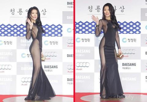 Foto Baju Artis Korea Bukannya Anggun 4 Artis Korea Ini Muncul Dengan Pakaian Paling Enggak Banget Saat Red Carpet