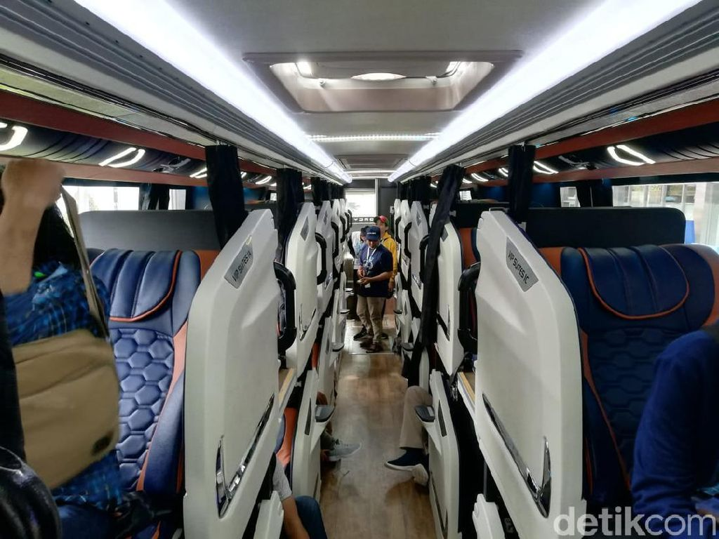 Nggak Main-main, Sleeper Bus Indonesia Dibuat Sesuai Standar Eropa
