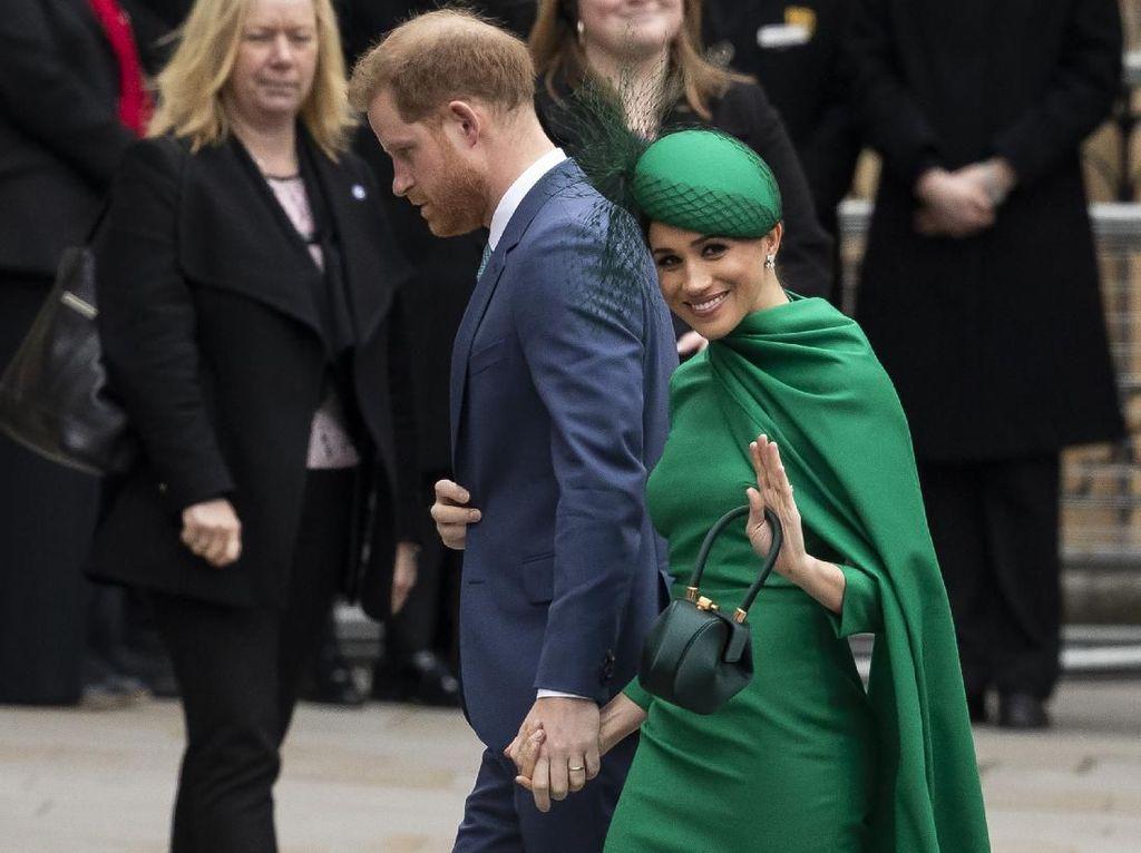 Meghan Markle-Pangeran Harry Jadi Tamu Undangan Pernikahan Brooklyn Beckham