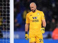 Blunder Fatal Pepe Reina di Laga Leicester Vs Aston Villa