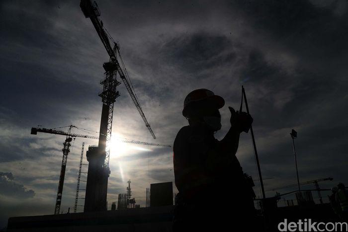 Pembangunan Jakarta International Stadium terus dikebut. Begini progresnya.