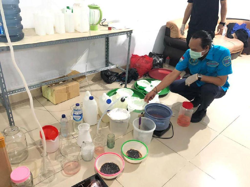 Dikendalikan Napi, Home Industry Sabu di Teluk Gong Jakut Digerebek BNN