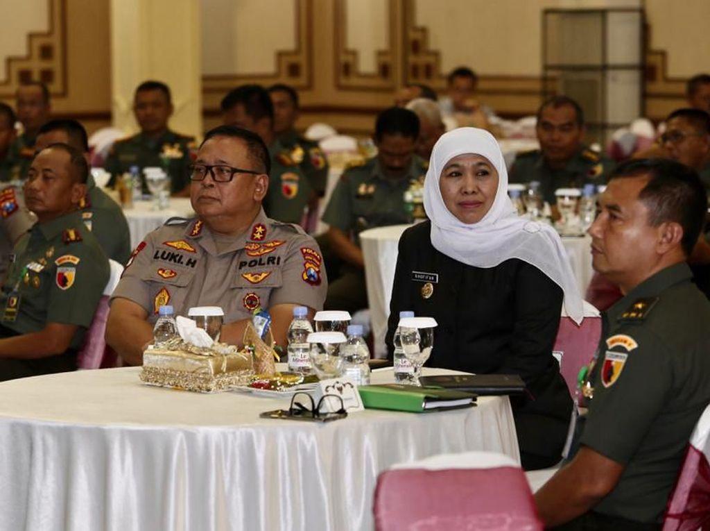 Hadapi Pilkada Serentak, Gubernur Khofifah Tekankan Pentingnya Sinergi
