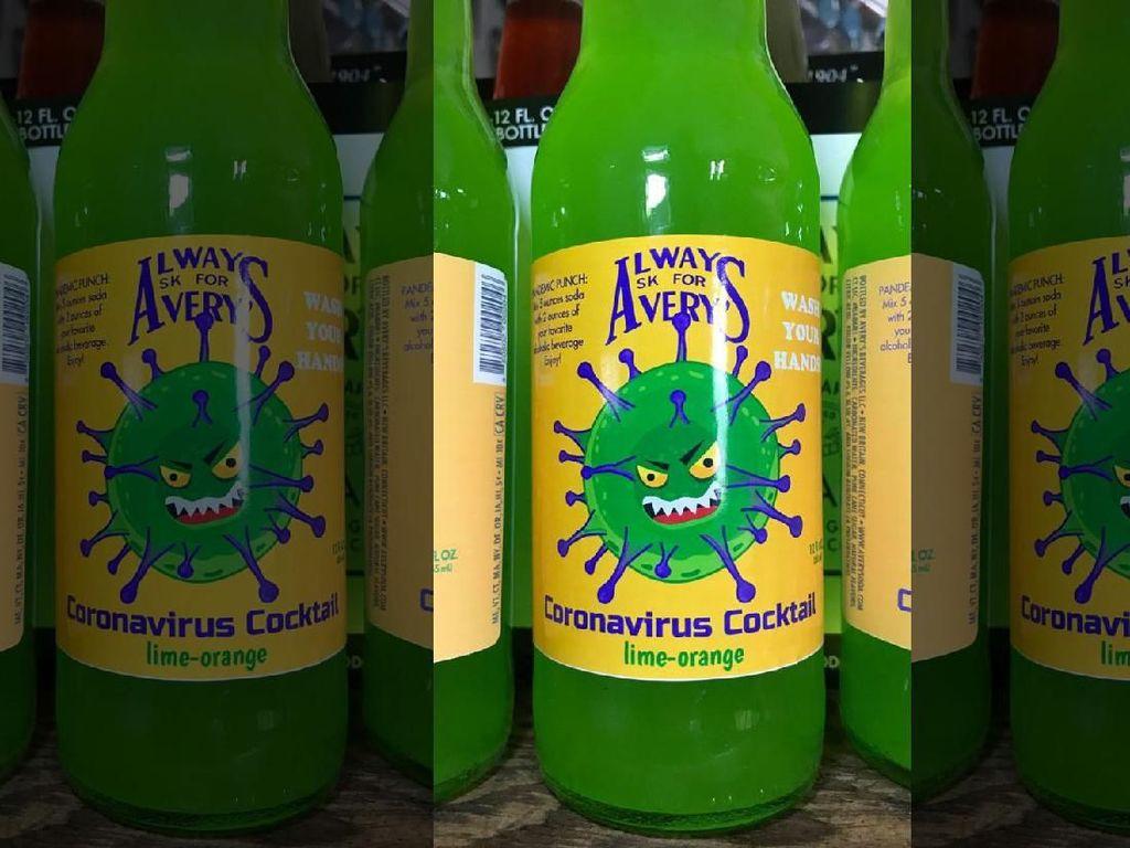 Heboh Virus Corona, Produsen Minuman Malah Bikin Coronavirus Cocktail