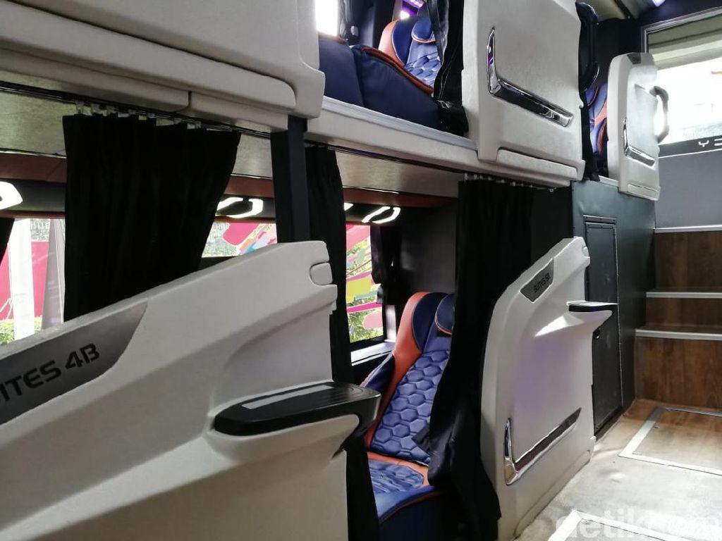 Kenapa Kursi Sleeper Bus Tidak Bisa Direbahkan Secara Rata? Ini Alasannya