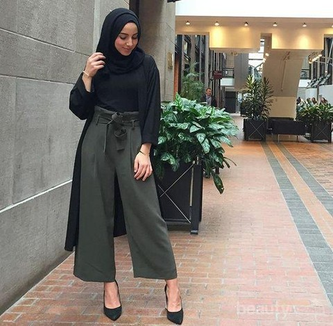 4 Tips Style Kulot Hijab Untuk Kamu Bertubuh Gemuk