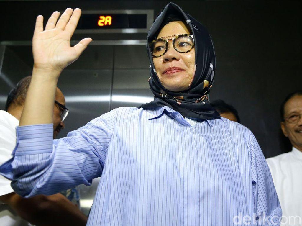 Video Eks Dirut Pertamina Karen Agustiawan Resmi Bebas