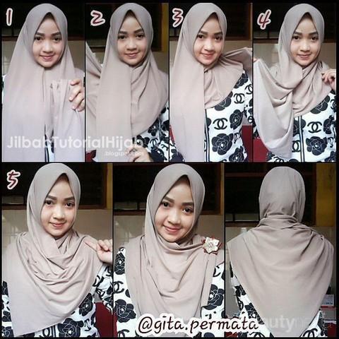 Ini Dia Tutorial Hijab Simpel Untuk Remaja Yang Bikin Kamu Cantik Terus