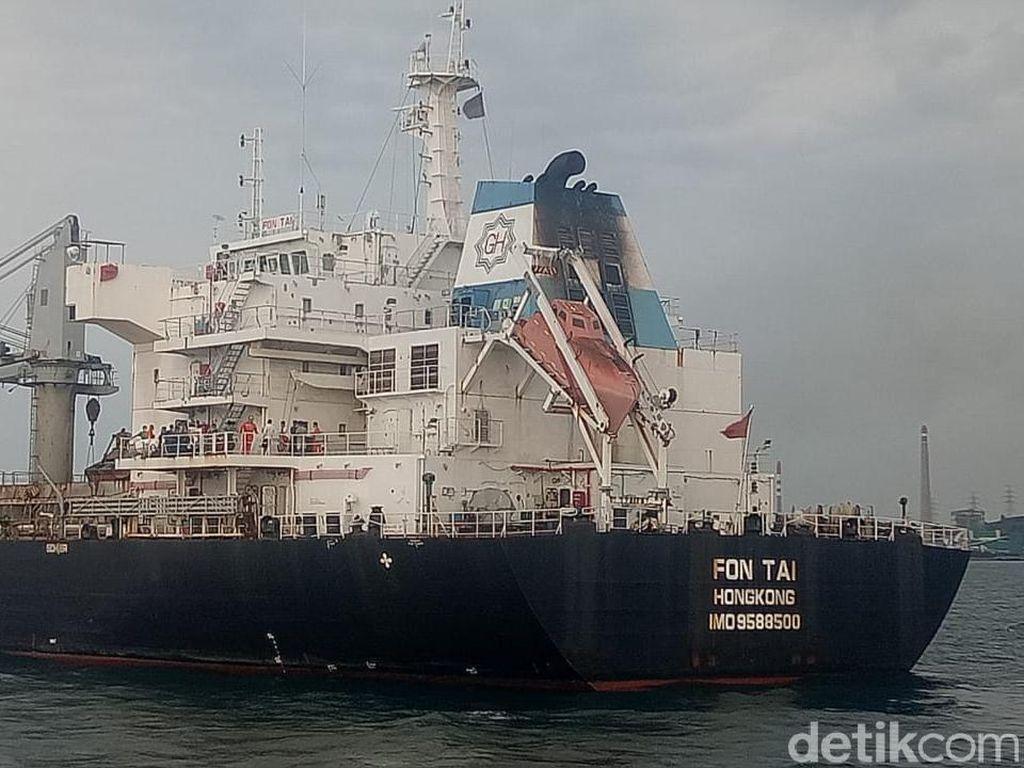 TNI AL Tangkap Kapal Berbendera Hong Kong yang Diduga Langgar UU Pelayaran