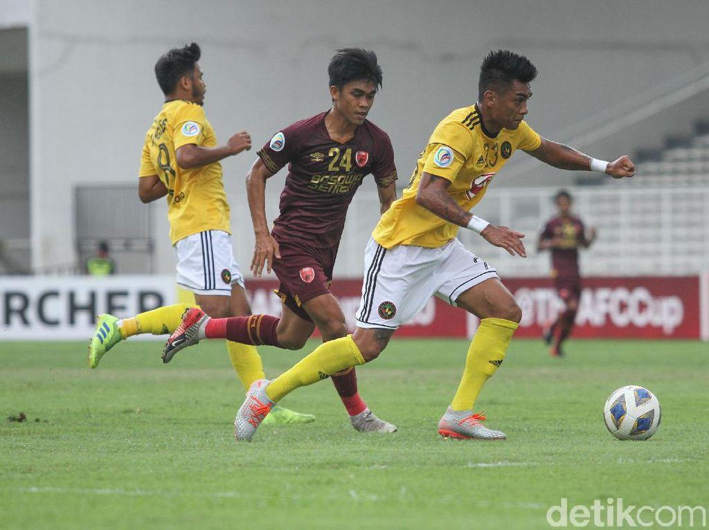 PSM Makassar Vs Kaya FC Berakhir Imbang 1-1