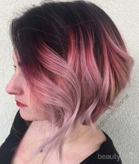 Pilihan Warna Ombre Ini Bakal Cocok Untuk Kamu Si Pemilik Rambut Pendek