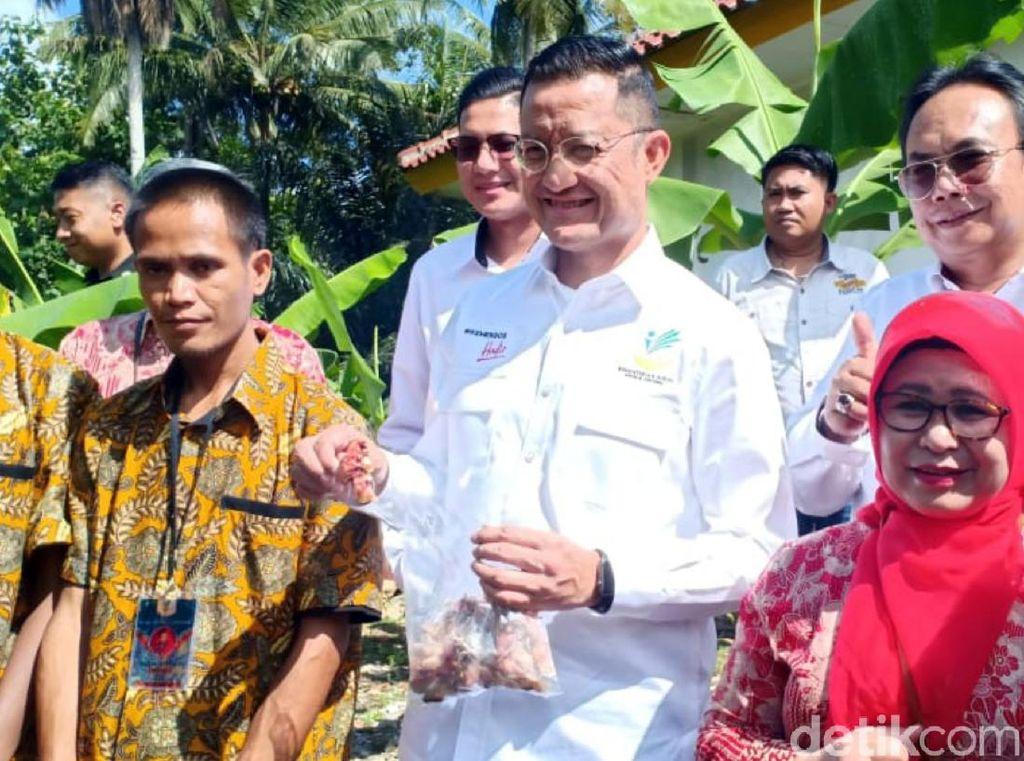 Kunjungi Sukabumi, Mensos Bicara Sulitnya Kejar Target Bebas Pasung