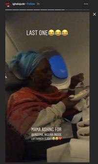 Cerita Ighalo: Ibunya Minta Indomie di Pesawat