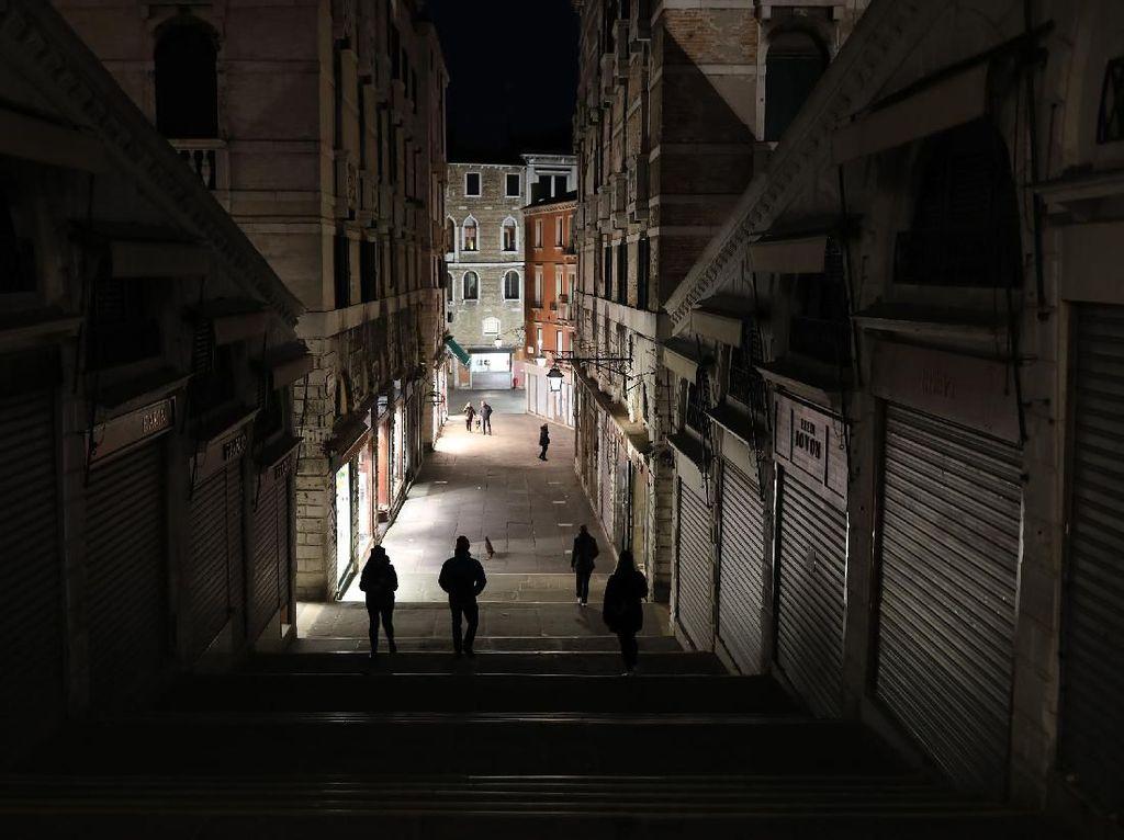 2 Pekan Lockdown, Italia Klaim Berhasil Turunkan Penularan Corona