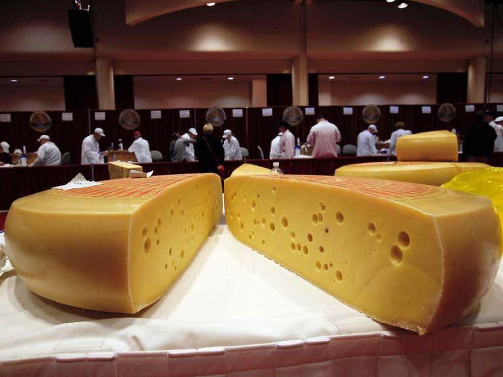 Swiss Gruyere Jadi Keju Terbaik Dunia, Ini Keistimewaannya