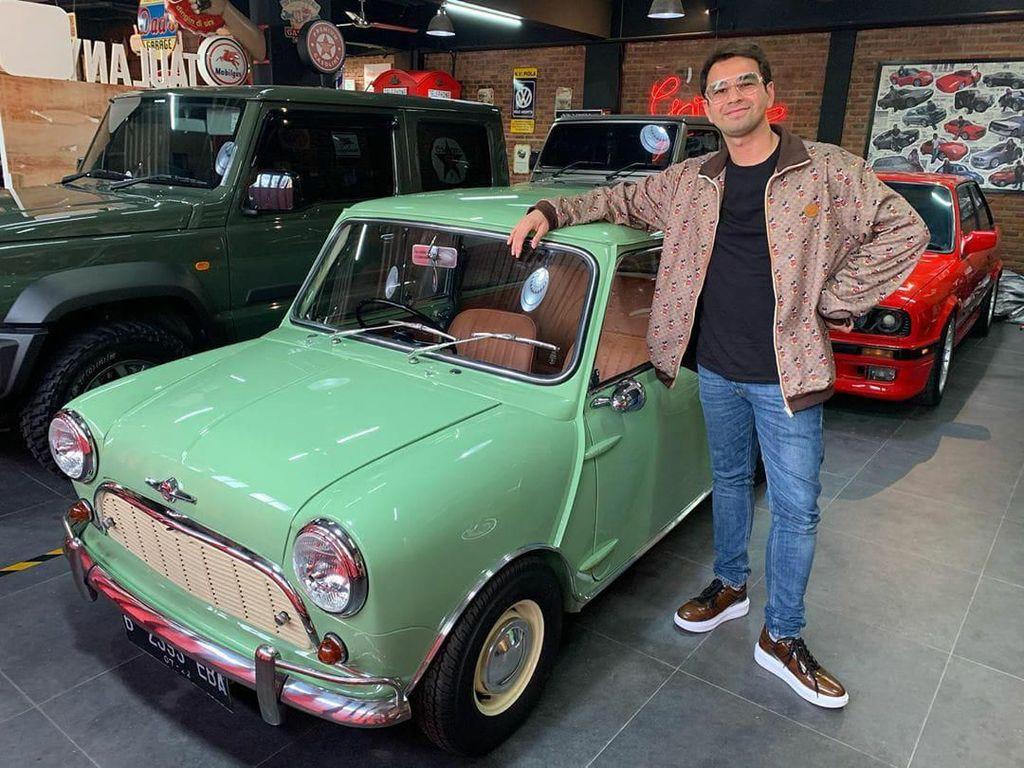 Intip Spek Mobil Klasik yang Dibeli Raffi Ahmad Rp 700 Juta